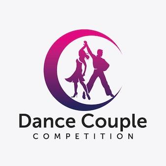 Danse beau jeune couple, amour