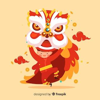 La danse du lion