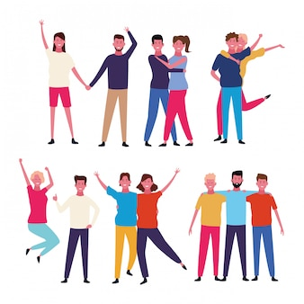 Danse des gens avatar