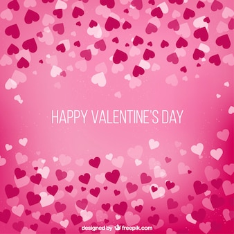 Day background valentine avec des coeurs