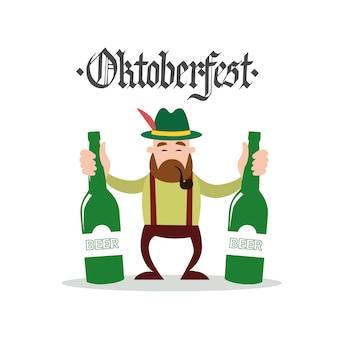 Décoration du festival de la bière oktoberfest
