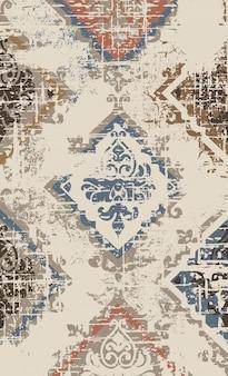 Décoration d'ornement de luxe. motif baroque vintage