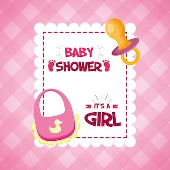 Décoration pour le baby shower