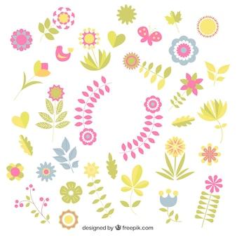 Les décorations florales