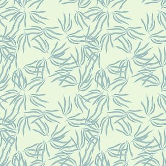 Décrivez le motif semless de feuilles tropicales. fond de feuille tropique. papier peint hawaïen exotique.
