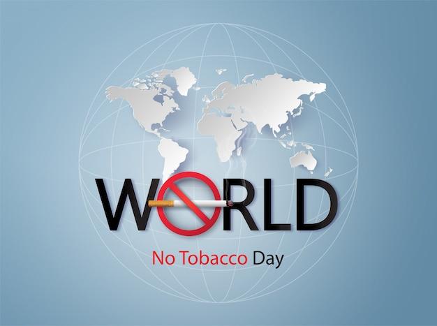 Défense de fumer et journée mondiale sans tabac,
