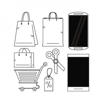 Définir les achats en ligne