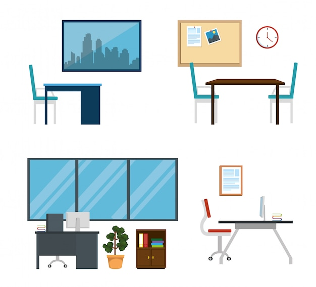 Définir des affaires de bureau