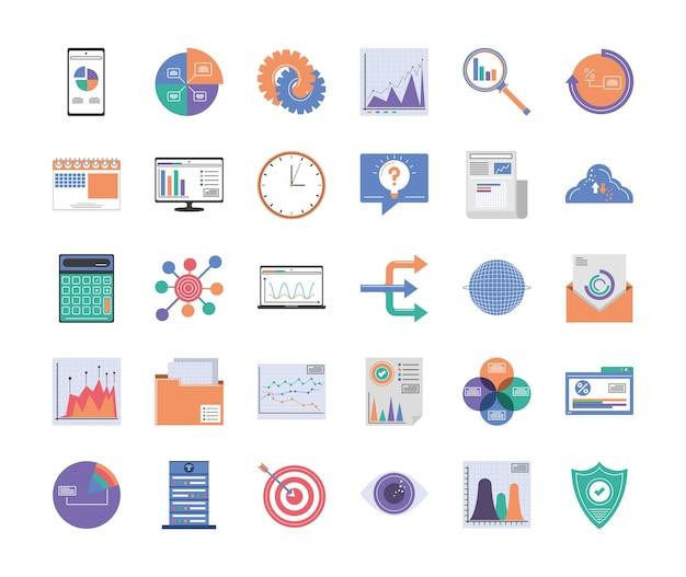 Définir l'analyse des statistiques infographiques