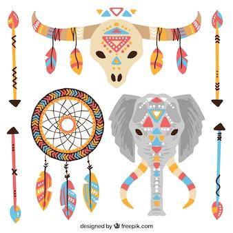 Définir des animaux et des éléments ethniques