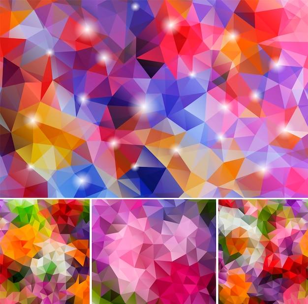 Définir les arrière-plans polygonaux