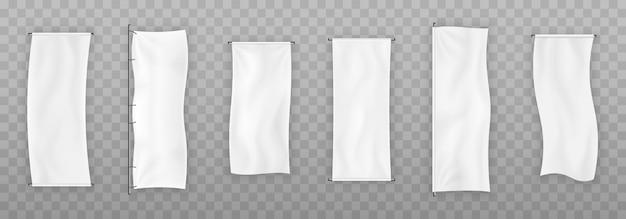 Définir la bannière de tissu.