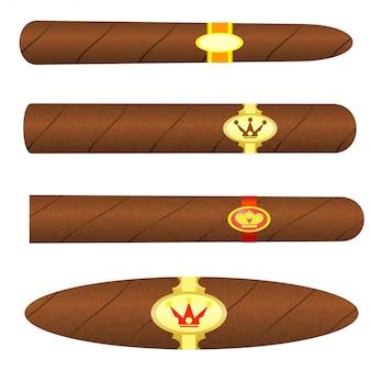 Définir les cigares kubinskiyh