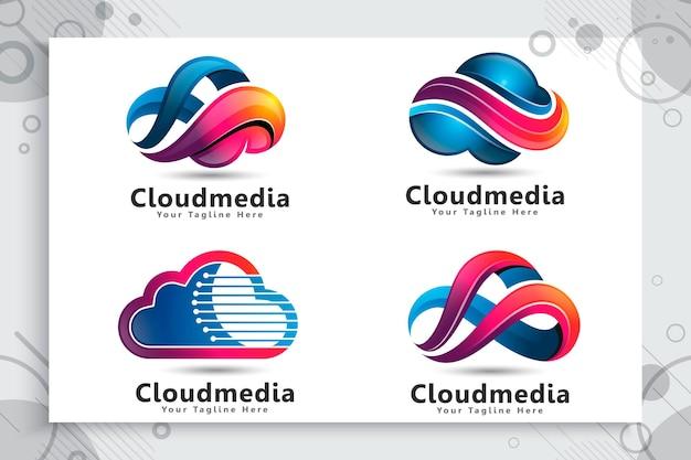 Définir la collection de logo cloud data