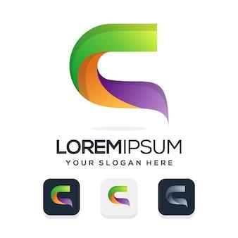 Définir la conception du logo de la lettre c