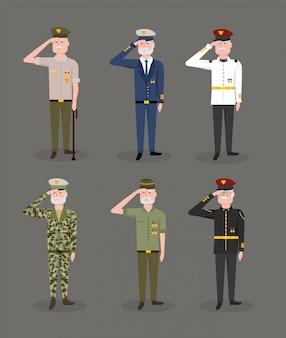 Définir les forces armées célébré la journée nationale des anciens combattants