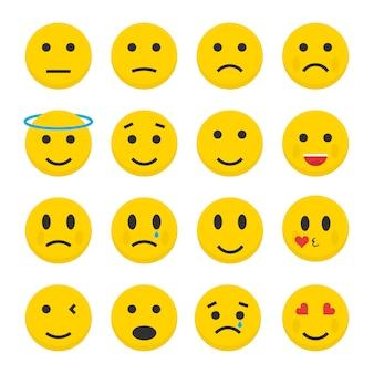 Définir des icônes d'émoticônes