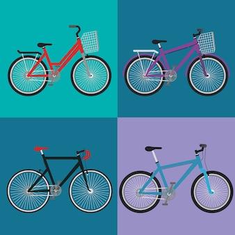 Définir les icônes de styles de vélo