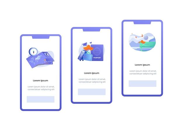 Définir l'illustration de l'écran embarqué pour les applications itinérantes