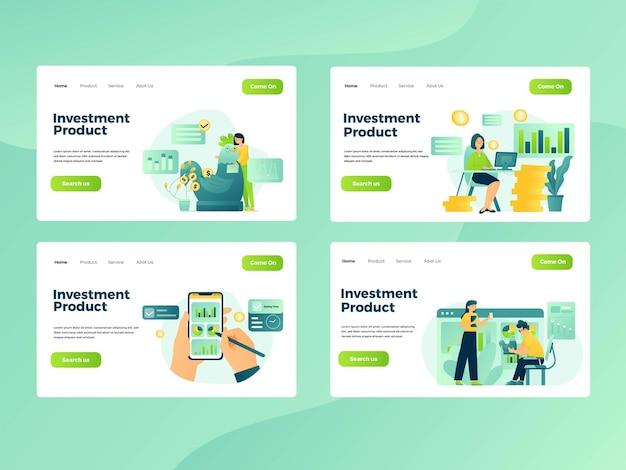 Définir l'illustration graphique des personnes ayant une activité d'investissement et de finance
