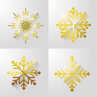 Définir joyeux christamas neige design
