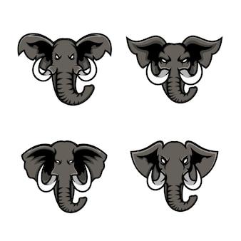 Définir le logo de l'éléphant de tête