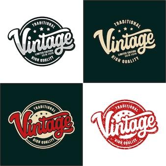 Définir le logo vintage