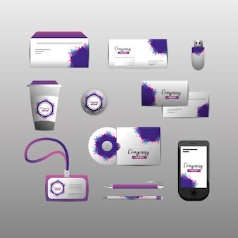 Définir un modèle stationnaire de société avec des documents commerciaux