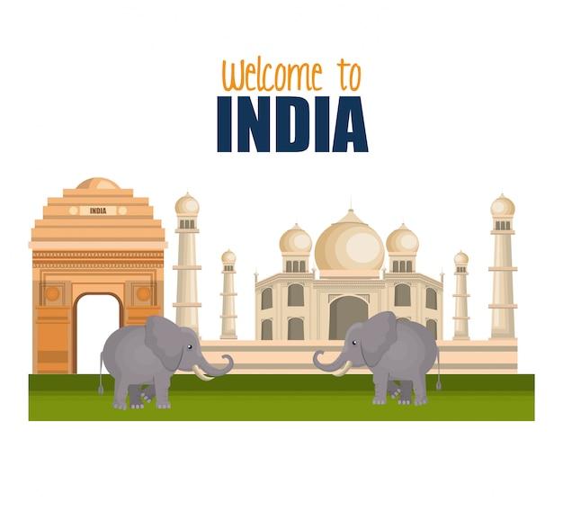 Définir des monuments en inde