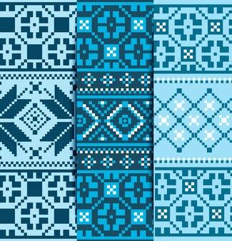 Définir le motif tricoté de noël