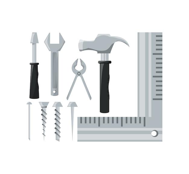 Définir l'outil d'équipement et le service de réparation