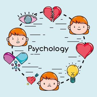Définir le problème de psychologie et le traitement de thérapie