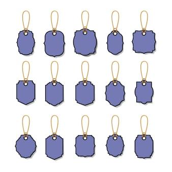 Définir des tags commerciaux suspendus