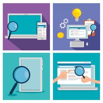 Définir la technologie d'entreprise avec les informations de document