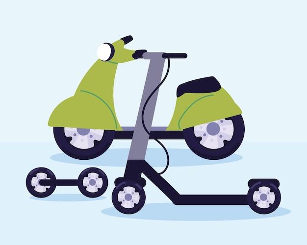 Définir le transport de scooter électrique