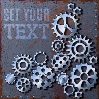 Définissez votre arrière-plan gears