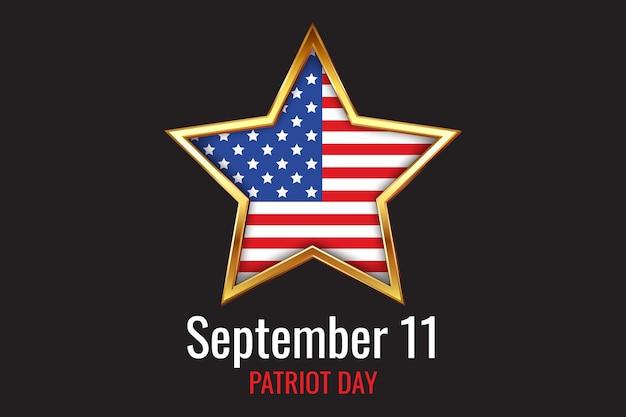 Dégradé 9.11 fond de jour patriote