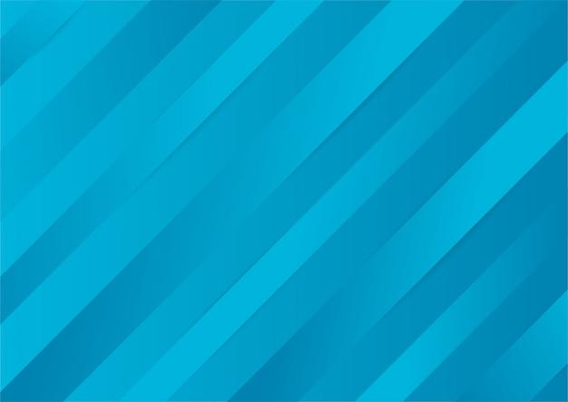 Dégradé bleu abstrait texture élégante fond lignes brillantes.