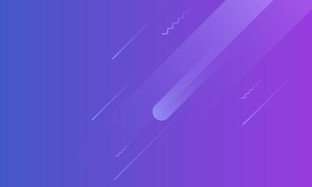 Dégradé bleu et violet moderne avec fond de forme arrondie. conception simple pour votre site web.