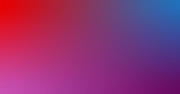 Dégradé flou rouge bleu rose orchidée fond d'écran dégradé illustration vectorielle
