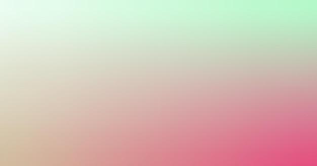 Dégradé flou seafoam vert menthe beige rose rouge dégradé papier peint fond illustration vectorielle