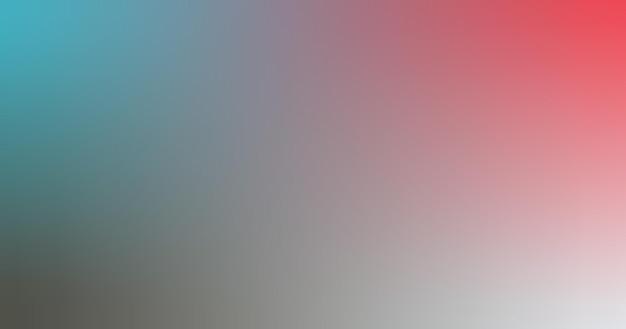 Dégradé floue turquoise cafetière rouge étain dégradé papier peint fond illustration vectorielle