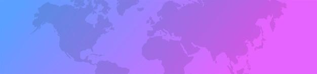 Dégradé de fond de carte du monde. modèle de carte du monde pour votre site web ou votre magasin. illustration vectorielle eps 10