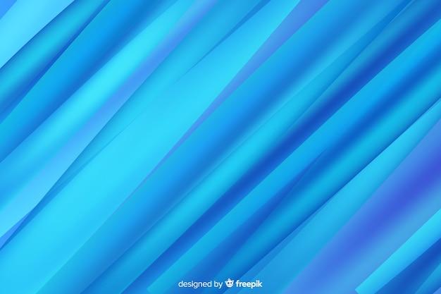 Dégradé de fond de formes abstraites bleu