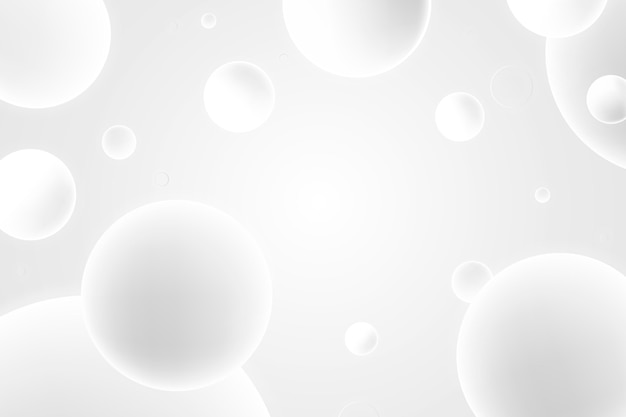 Dégradé de fond monochrome blanc