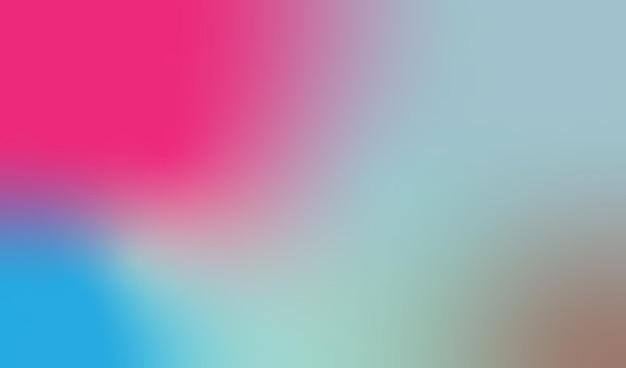 Le dégradé de forme libre est une image d'arrière-plan avec une belle combinaison de couleurs. illustration.