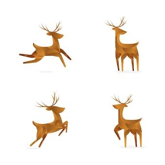 Dégradé géométrique renne