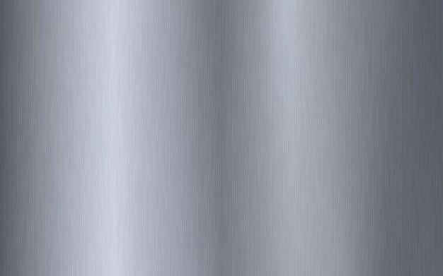 Dégradé métallique argenté avec rayures. titan, acier, chrome, effet de texture de surface en feuille de nickel.