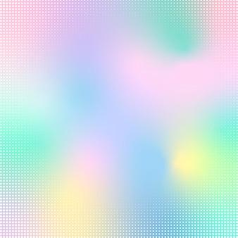 Dégradé de style abstrait hologramme