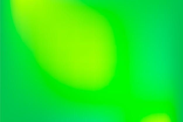 Dégradé de tons verts
